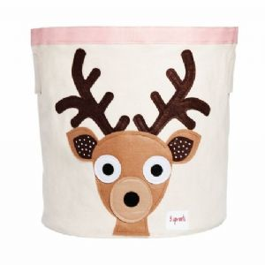 3 Sprouts Storage Bin - Deer Toffee